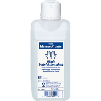 Handdesinfectie Manusept basic 500 ml