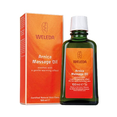 Massageolie Weleda met arnica 1 fles 200 ml